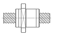 DFSHR1 Type Nuts_StockRolledBallScrew Series